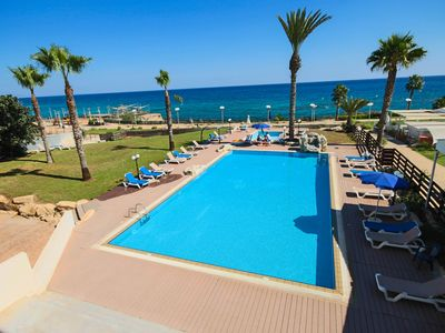 Photo for Luxury Apartment Just 80 meters from blue flag beach of Fig Tree bay