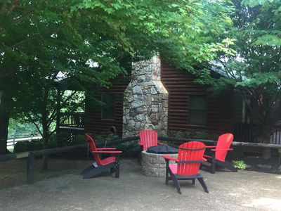 Photo for Amazing  Secluded Mountain Cabin @ Shenandoah Nat. Park, hiking trails & fishing
