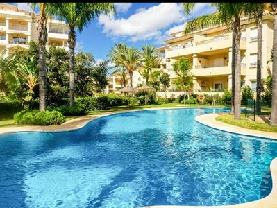 Photo for Apartment Mijas Costa Fuengirola La Cala - Fast Internet - Premium UK Irish TV