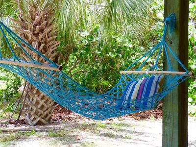 Photo for Seahorse Hideaway! Golf Cart, Kayaks/ Paddle board! Close to beach!
