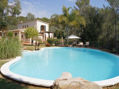 Photo for Spectacular pool villa rustica field of over 85 000 m2