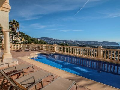 Photo for Mimo - sea view villa with private pool in Moraira-Teulada