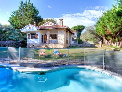 Photo for This 3-bedroom villa for up to 7 guests is located in Caldes De Malavella and has a private swimming