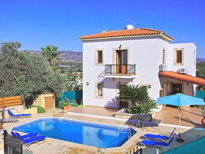 Photo for Chrystodoula: Villa with private pool near Polis, nice gardens, no car needed