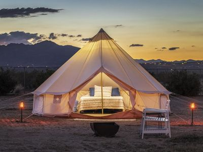 Photo for The Castle House: YURT Tent 2 | featured on HGTV