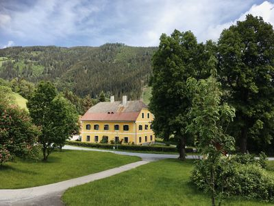 Photo for Apartment in the country estate Lindenhof, dream location hiking / Schiregion Murau