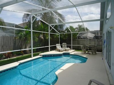 Photo for CREEKSIDE (4319BD) - 5BR 3BA Home w/ private pool, fenced backyard for privacy