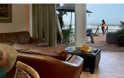 WOW! Very private 2-bedroom direct ocean front Sea Cottage with luxury amenities