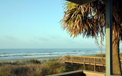 Photo for Direct oceanfront, Cherry Grove, elevator+pool, taking summer/fall reservations
