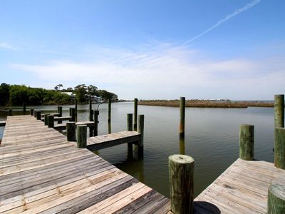 Photo for *New Lisitng! Waterfront Condo with Elevator, Boat Dock & POOL! Close to Beach!