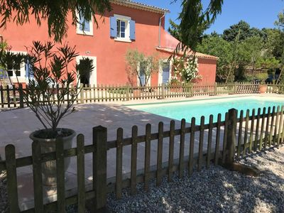 Photo for 17th century farmhouse restored in the heart of Lubéron and Alpilles
