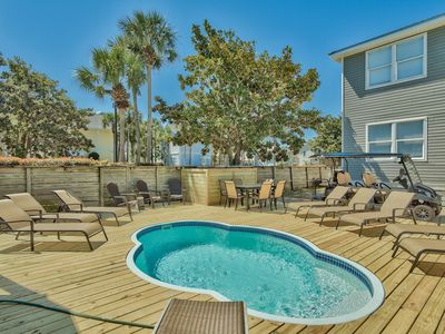 Photo for CRYSTAL ESCAPE- 2 GOLF CARTS INCLUDED, PRIVATE POOL, SLEEPS 16 !!