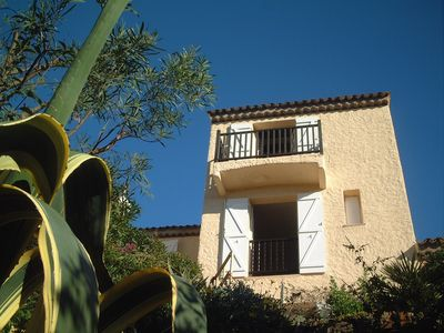 Photo for Stunning views - 5 minutes walk to the beach, shops and restaurants.  sleeps 8.