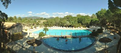 Photo for Greenchalet on the Campsite Leï Suves, a family-friendly camping site