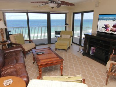 Photo for Sunrise Paradise, 2/2 Updated Corner Condo, Oceanfront, No-Drive Beach!