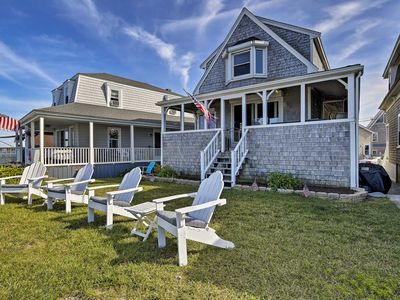 Photo for NEW! Oceanfront Marshfield Home w/ Porch + Grill!