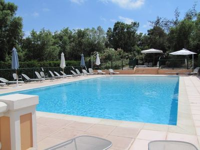 Photo for 1 km from the center of Mandelieu-La Napoule with Pool, Air conditioning, Parking, Terrace (356163)