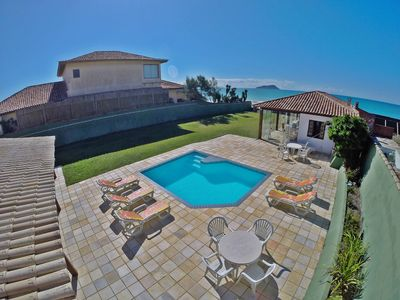 Photo for house 5 bedrooms, swimming pool, sauna, barbecue, open the gate and step on the sand
