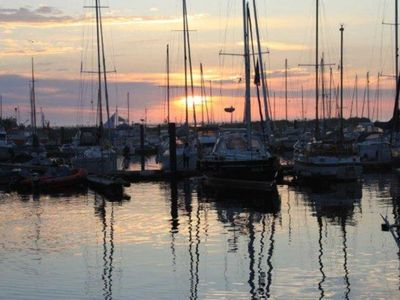 """Photo for (166) 2-room apartment Harbour Road - Residence """"Yachthafenresidenz"""""""