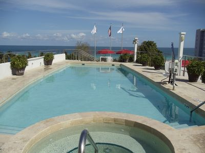 BENTLEY by OWNER! OCEAN FRONT, PRIVATE BALCONY & POOL