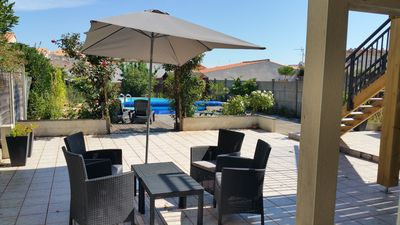 Photo for 2 rooms with swimming pool quiet 2 steps animations - ideal for a couple!