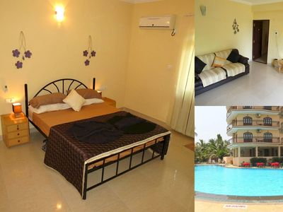 Photo for 01) Luxury serviced apartment close to the sea in a 4* resort
