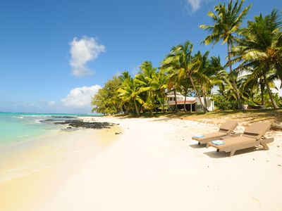 Photo for Villa Eva - close to one of the best beaches in Mauritius, maid cooking lunch