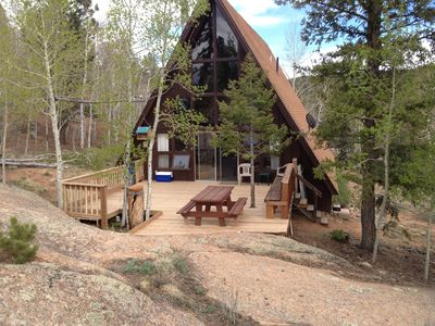 Relaxing Get Away Cabin in the Mountains from June-October