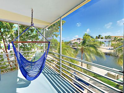 Photo for 2BR Canal Home w/ Pool & Balcony – Bring Your Boat