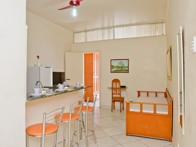 Photo for Only 250 meters from the beach! POSTO 4 + WiFi + NET + AIR CONDITIONING
