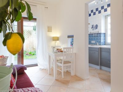 """Photo for """"Meeresleuchten"""" Apartment Sylt for 2 persons with a garden in downtown"""