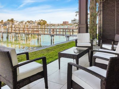 Photo for Lavish 3BR Condo w/ Outdoor Patio, Hot Tub, Pool & Intracoastal Waterway View