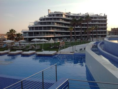 Photo for Luxury Newapartment with magnificient sea view with 5 * resort worthy facilities