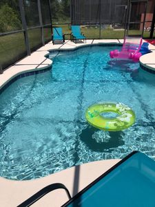 Photo for Peaceful Private Pool Home by Disney