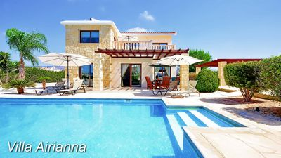 Photo for Luxury Villa With Private Pool - Short Walk Of The Center Of Coral Bay