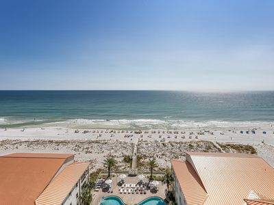 Photo for Absolute Vacationer's Paradise! Spectacular 10th Floor Condo w/2 Heated Pools!