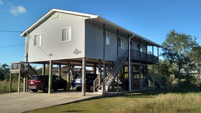 Photo for Waterfront, pet friendly-all the comforts of home, priced like a nice hotel room