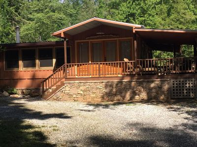 Photo for Lake Burton~Charming Lake Burton Cabin Retreat!  Across from LaPrades Marina