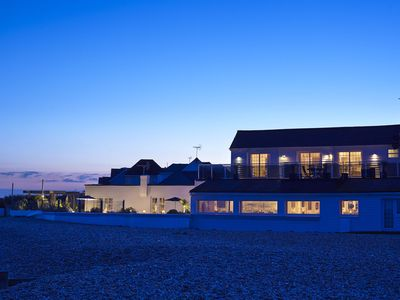 Photo for Large Beach Front Mansion with Sea Views, Gardens, Hot Tub, Featured on ITV1