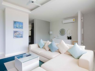 Photo for Modern 3BR townhouse in Choengmon beach