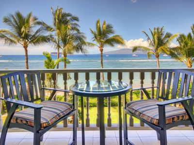Photo for BEACHFRONT CONDO WITH UNBELIEVABLE OCEAN/SUNSET VIEWS