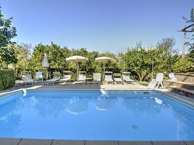 Photo for One bedroom Villa, sleeps 4 in Sant'Agnello with Pool, Air Con and WiFi