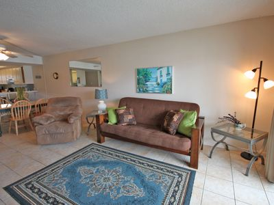 Photo for Pool View Condo w/Private Balcony, Pool, Gym, Private Beach Access, & More!