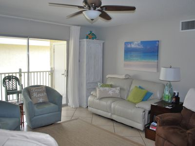 Photo for Beautiful, NO DRIVE BEACH, washer/dryer,  boggie boards, chairs, umbrellas