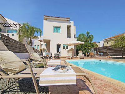 Photo for Lovely 2 Bedroom Villa in the heart of Ayia Triada with Private Pool and close to the Beach!