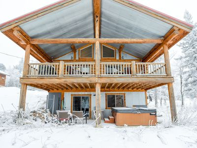 Photo for Newly Built Cozy 3 Bedroom Cabin, 3 Blocks from Terry Peak