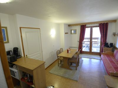 Photo for Flat 2 rooms 4 persons, 35m², on slopes,view, balcony