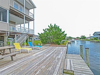 Photo for S101B: South Bethany Canalfront 5BR Home W/Boat Dock  - Walk to Beach!
