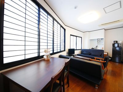 Photo for Liz4 Walking distance from Umeda Osaka station 50 - Liz4 within walking distance from Umeda Osaka Station 50 with parking Free pocket Wifi available for 7 people / Osaka Osaka