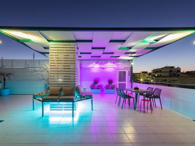 Photo for Groovy & Cozy APT with Private Seaview Rooftop Terrace
